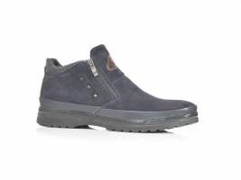 Ботинки SLAT 18-85 синий замш_0