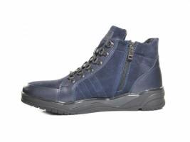 Ботинки SLAT 19-410 синий замш_1