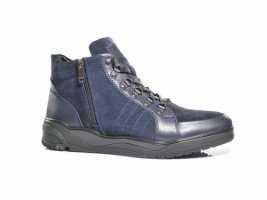 Ботинки SLAT 19-410 синий замш_0