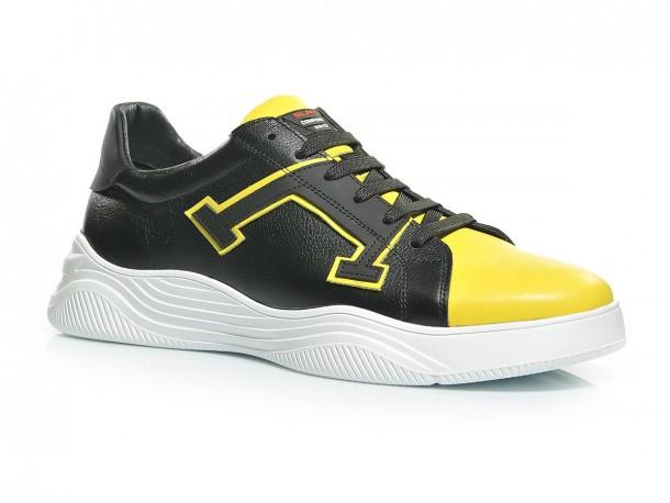 Кроссовки 20-500 черн-желтый