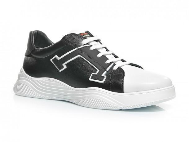 Кроссовки 20-500 черно-белый