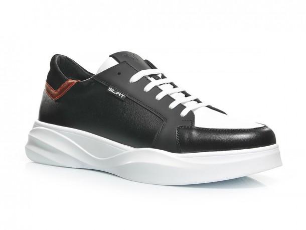 Кроссовки 20-520 черно-белый