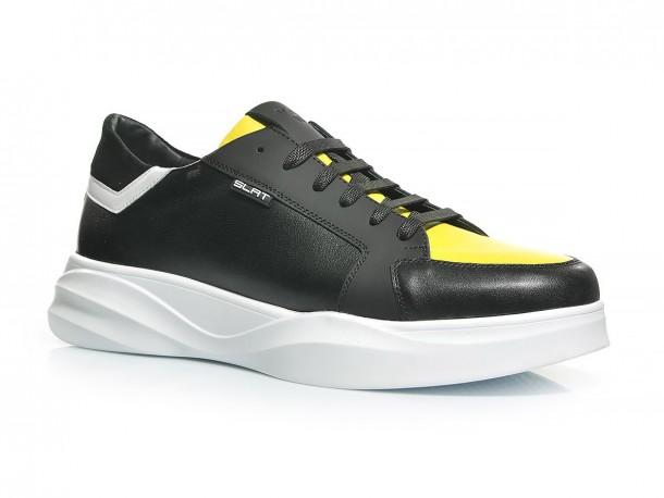 Кроссовки 20-520 черно-желтый