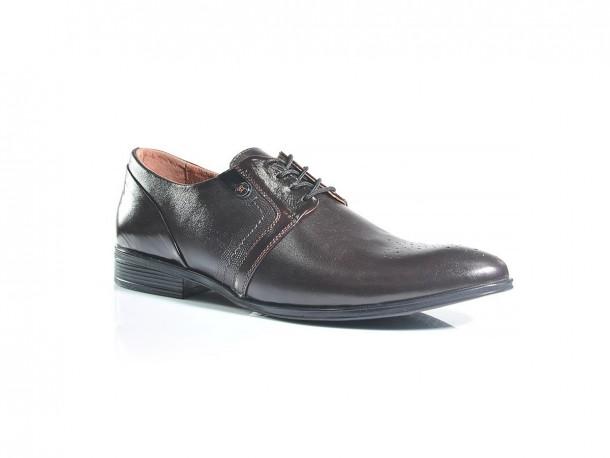 Туфли 19-408 коричневый