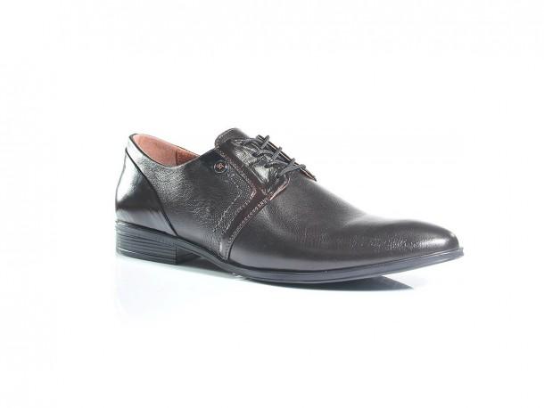 Туфли 19-407 коричневый