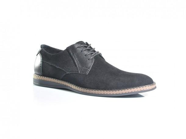 Туфли 19-455 замш