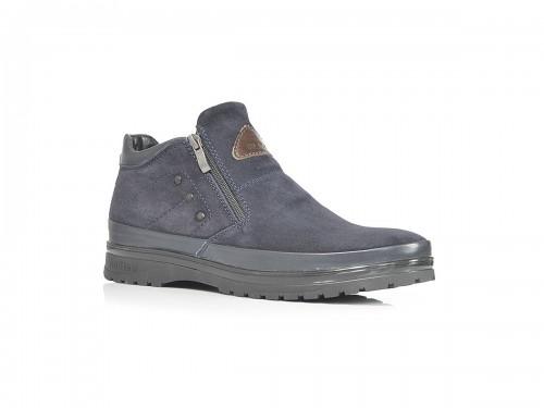 Ботинки SLAT 18-85 синий замш