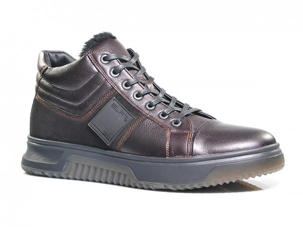 Ботинки SLAT 20-540 коричневый мех