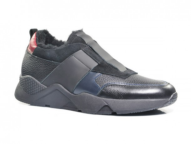 SLAT кроссовки 20-514 черный мех