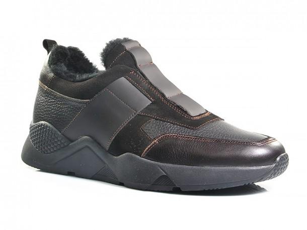 SLAT кроссовки 20-515 коричневый мех