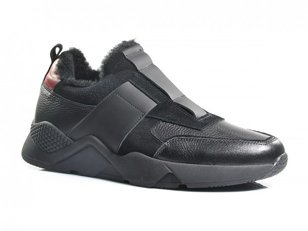 SLAT кроссовки 20-515 черный мех